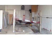 Stenhoj 4 Post Ramp for Sale 3.5 tonnes £195 3 Phase
