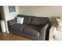 Charcoal grey sofa - great condition - open to offers