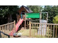 Jungle Gym child's garden play house