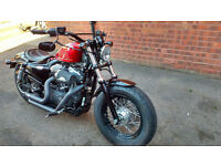 2013 HARLEY DAVIDSON 1200 FORTY EIGHT ABS MINT CONDITION