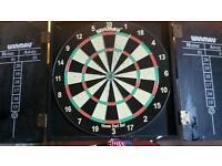 dart board pub style