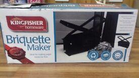 Briquette maker
