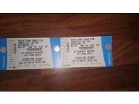 2 x Stone Roses tickets Hampden 24th June