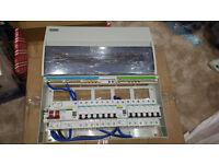 Crabtree 13 Way High Integrity Consumer Unit Fuse Board Dual Rcd + mcbs