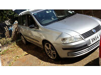 Fiat Stilo estate 2004 silver 133K miles
