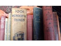 Antique Vintage Books