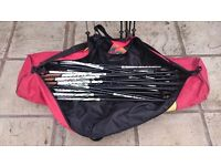21 x LEKI Nordic Walking Poles plus LEKI branded bag ideal for personal trainer or bootcamps