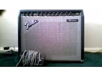 Fender Montruex amplifier.