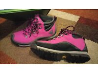 Hiking Boots size 5/38 Pink/Black