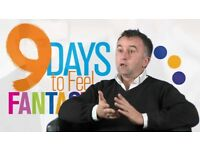 BARGAIN: 9 Days to feel fantastic: how to create happiness for £8 instead of £17