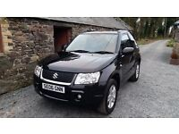 Suzuki Grand Vitara 4x4 1.6 petrol 12 months warranty and recovery long Mot and just serviced