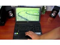 ACER ASPIRE E1-570 INTEL CORE I3-3217U 1.80GHZ,1000GB HDD,8GB RAM,WINDOWS 10,GOOD CONDITION