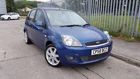 "2008 Ford Fiesta 1.2 ""Blue"", low miles, Top spec, £2995"