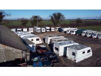 Full secure caravan and motor home storage Hard Standing