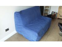 Sofa Bed (Double) with Mattress Topper