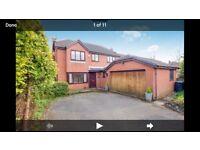 Exec 4 bed detached house for rent Fulwood Preston