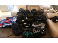 Job lot of holdalls, gym bags, rucksack, new will suit buyer and seller or market trader