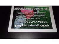 Painting and garden cleaning services