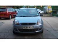 FORD FIESTA NEW SHAPE ZETEC CLIMATE 1.4 PETROL 56 PLATE 2006 3 DOOR H/BACK FSH 12 MONTHS TEST