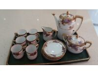 antique coffee set