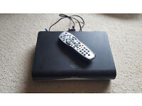 Sky + HD Box. With original remote and leads.