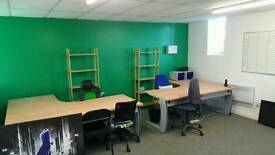 Office and storage room for rent