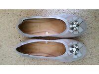Size 7 Accessorize ballet shoes