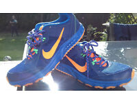 Nike wild trail running trainers size UK 6
