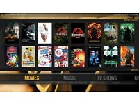 Amazon Firestick - movies, sports, music - FULLY LOADED
