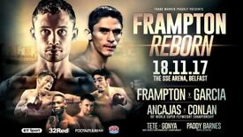 3x Carl Frampton Tickets