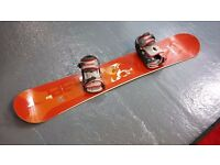Wed'z Snowboard 162cms (Boots optional, size 9)
