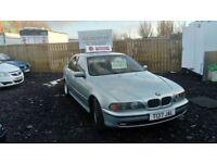 1999 T REG BMW 520i MOT JULY LOW MILEAGE GREAT DRIVER £595