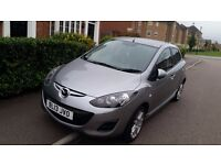 Mazda 2, 1.3, 2013 , only 20000 miles, 1st owner, full service history, tax only £30