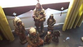 i have 16 indian warrior figures all different sizes