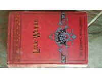 Antique Little Women book. The Evening Hour Library