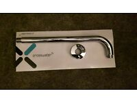 Crosswater fixed head shower outlet pipe