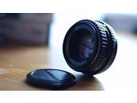Pentax-M 1:2 50mm Lens
