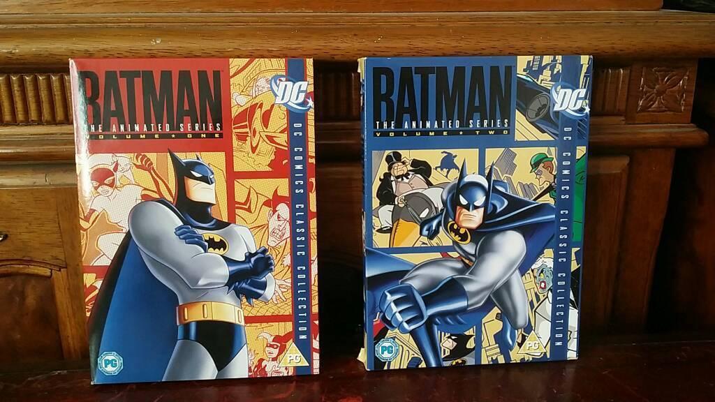 batman the animated series volumes 1 4