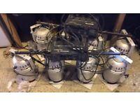 2 x Soundlab DMX Dimmer Pack with Lights