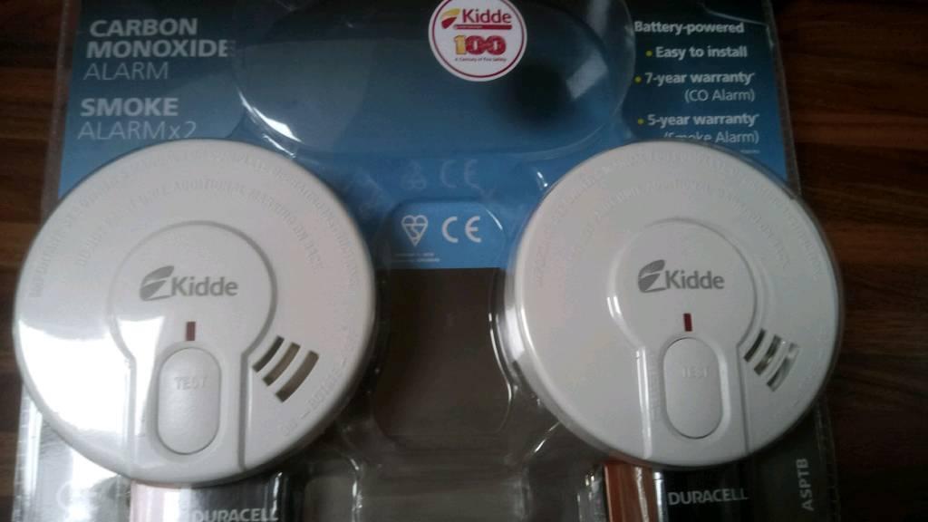2x kidde smoke alarms new