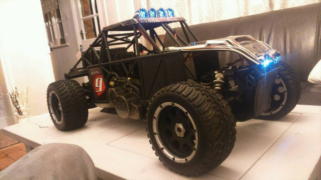 2 stroke rc buggy 1/5 scale