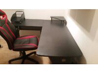 desk & chair for sale. only 3 months old!