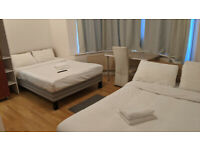 Massive King Size Full Ensuit With Attached Bathroom, TV and Fridge £650