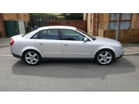 Silver A4 Quattro, great condition for year... 6 changer cd, 5 x quattro alloys and matching tyres
