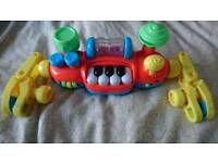 Buggy piano toddler musical toy