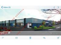 Industrial unit for sale and rent 60k upwards for freehold East Kilbride.