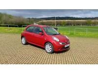 NISSAN MICRA 1.5 dCi 86 Acenta+ 5dr (red) 2008
