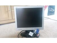 "Acer LCD Monitor 15"". Perfect condition"