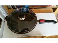 Woll deep sauté pan with lid - 28cm