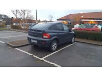 LHD SSANGYONG ACTYON 2 CDI DIESEL ENGINE MERCEDES
